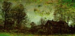 Impressionistische Wiesenmalerei