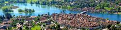 Ausblick auf Stein Am Rhein