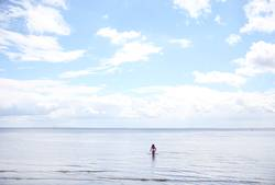 luftig | Himmel über weiter See