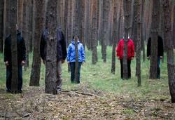 Spiele im Wald   verstecken üben