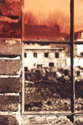 """Das """"Fenster"""" zum Hof"""