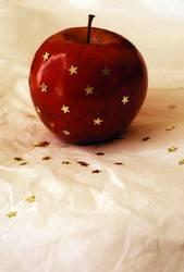 Apfel und Sterne