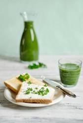 Grünes Frühstück