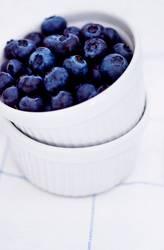 Dessert bleu