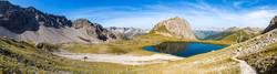 track in the alps (austria)
