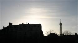 Helicopter über Paris