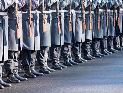 Soldaten des Wachregiments der Bundeswehr