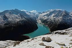 Zillertaler Alpen von der Olperer Hütte aus gesehen