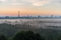 Berlin nach Sonnenaufgang