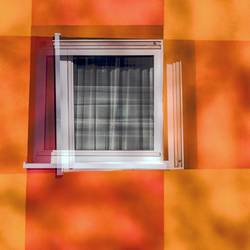 Fenster zum Herbst
