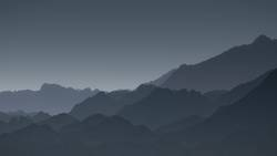 Von den Blauen Bergen....