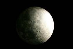 la luna en la tierra