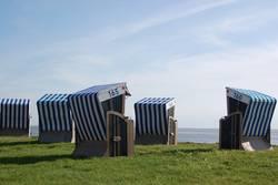 Norderneyer Strandkörbe