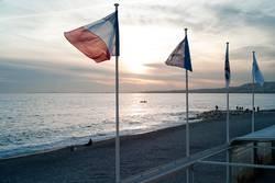 NIzza Sonnenuntergang