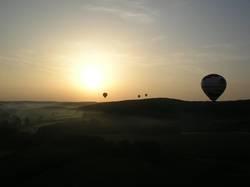 Ballonfahrt am Morgen 3