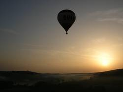 Ballonfahrt am Morgen 2
