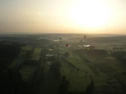 Ballonfahrt am Morgen 5