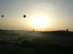 Ballonfahrt am Morgen 4