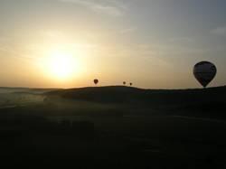 Ballonfahrt am Morgen 1