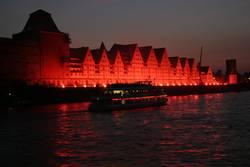 Kölner Lichter 2003/Rheinauhafen