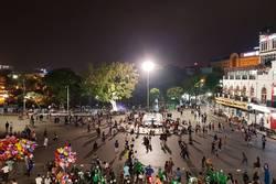 Feiertag in Hanoi