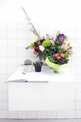 Blumen für den Künstler