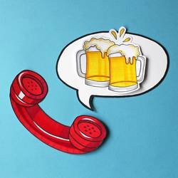 Tischlein deck dich | 2 Bier bitte