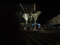 Munich Airport by Night