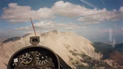 Segelflug am Hang