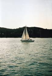 Segelboot in Kroatien