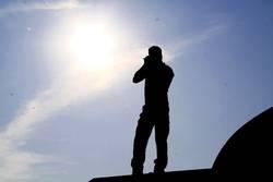 Fotograf mit Sonne im Herzen