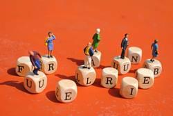 Miniaturfiguren - BuchstabenWürfel