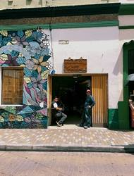 Columbian Merchant Street Scene