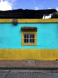 Fenster Bogota Kolumbien Südamerika Haus