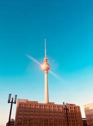 Berlin Fernsehturm Alexanderplatz