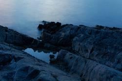 Naturplanschbecken am Meer