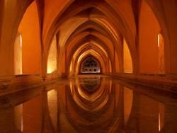 spanisches Gewölbe, spanish arch