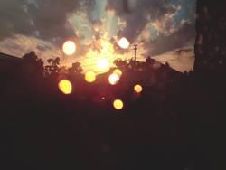 Sonnentanz nach dem Gewittersturm