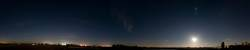 sternenhimmel panorma 360°