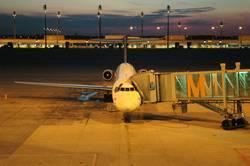 Munich Airport Sunset