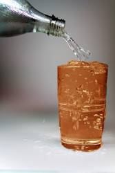 Oranges Wasser