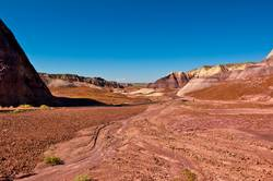 Purple Valley in the Painted Desert