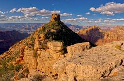 Closeup of Sinking Ship on the Grand Canyon