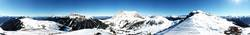 360° Berge