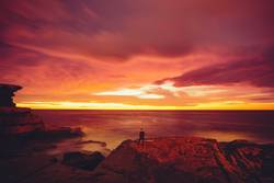 Epischer Sonnenaufgang