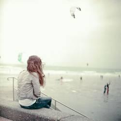 Strand Mädchen