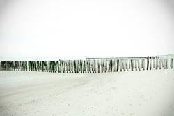 Strand Wellenbrecher