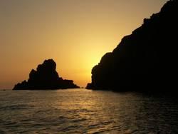 Sonnenuntergang auf Lipari