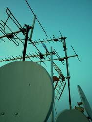 Roofs and antennas