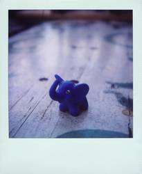 Blue elephant | The best and tiniest pet ever